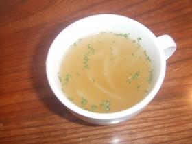↑セットのスープです♪